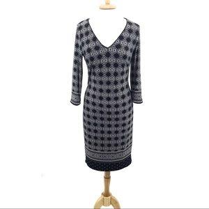 White House Black Market Sz S midi dress